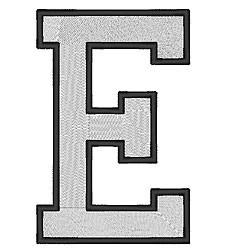 College Block E embroidery design