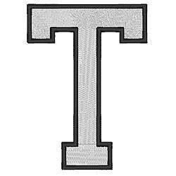 College Block T embroidery design