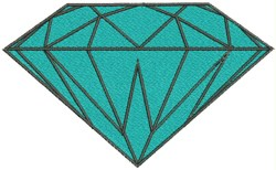 Diamond embroidery design