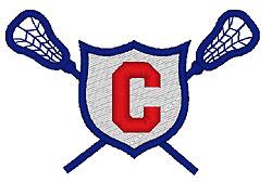 Lacrosse C embroidery design