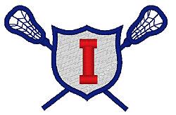 Lacrosse I embroidery design