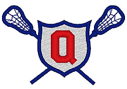 Lacrosse Q embroidery design