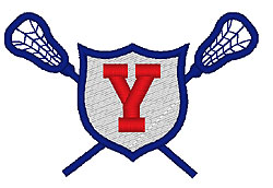 Lacrosse Y embroidery design