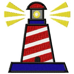 Lighthouse 1 embroidery design
