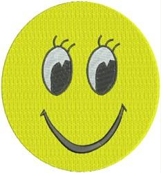 Girl Smiley Face embroidery design