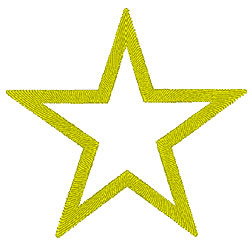 Star2 embroidery design
