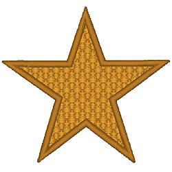 Star3 embroidery design