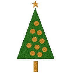 Tree1 embroidery design