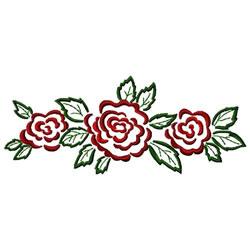 Rose Border embroidery design