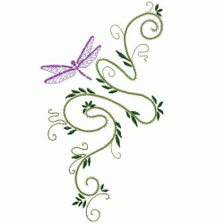 Oriental embroidery design