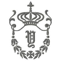 Regal Monogram Y embroidery design