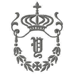 Regal Monogram Y embroidery design