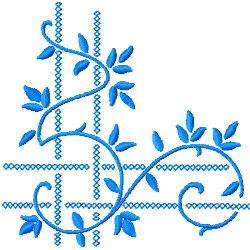 Corner Embroidery embroidery design