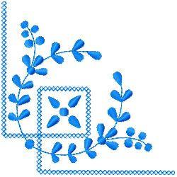 Corner Embroidery embroidery design