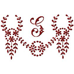 Small embroidery design