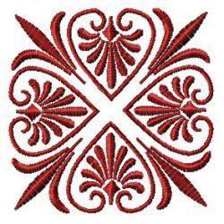 Square Hearts embroidery design