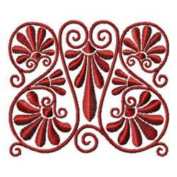 Swirl Embellishment embroidery design