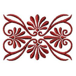 Oblong Embellishment embroidery design