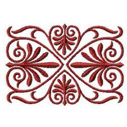 Heart Swirl small embroidery design