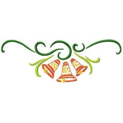 Bells Horizontal embroidery design