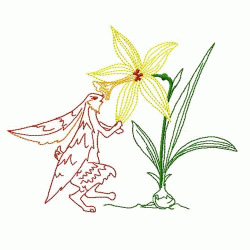 Easter embroidery design