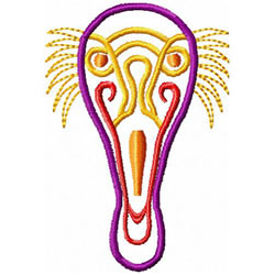 Etno Mask 3 embroidery design