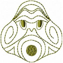 Etno Mask 4 embroidery design