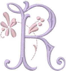 Monogram Alphabet embroidery design