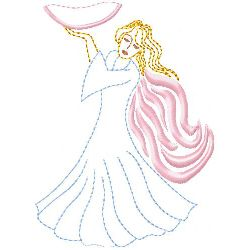 Angel 1 embroidery design