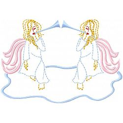 Angel 6 embroidery design