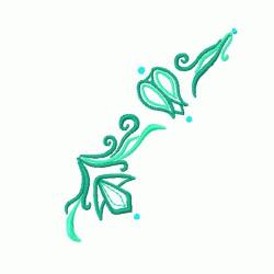 Necklines embroidery design
