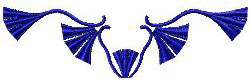 Tassels 2 embroidery design