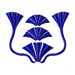 Fans And Tassels embroidery design