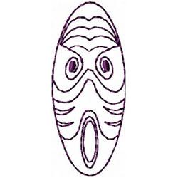 Etno Mask 1 embroidery design