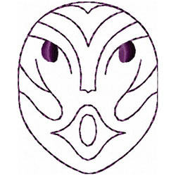 Etno Mask 2 embroidery design
