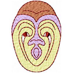 Etno Mask 5 embroidery design