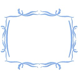 Scroll Frame embroidery design