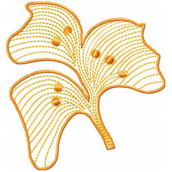Tropical Flower embroidery design