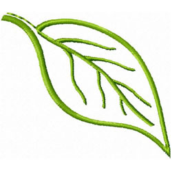 Leaf 2 embroidery design