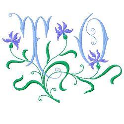 TO Monogram embroidery design