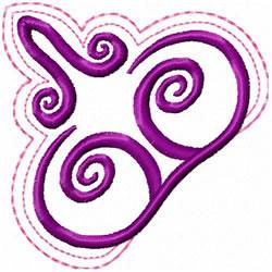 Swirl Decoration embroidery design
