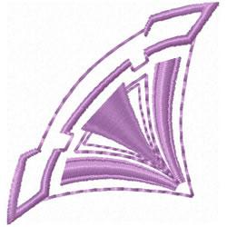 Art Deco Corner embroidery design