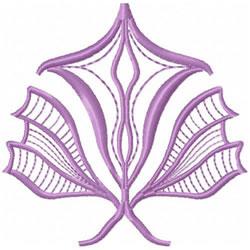 Art Nouveau Flower embroidery design