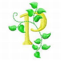 ABC embroidery design