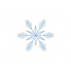 Snowflake 4 embroidery design