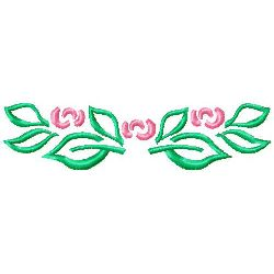 Rose 5 embroidery design