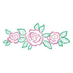 Rose 7 embroidery design