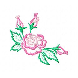 Rose 9 embroidery design