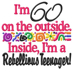 60 Teenager embroidery design