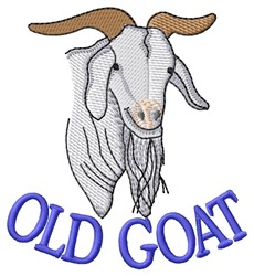 Old Goat embroidery design